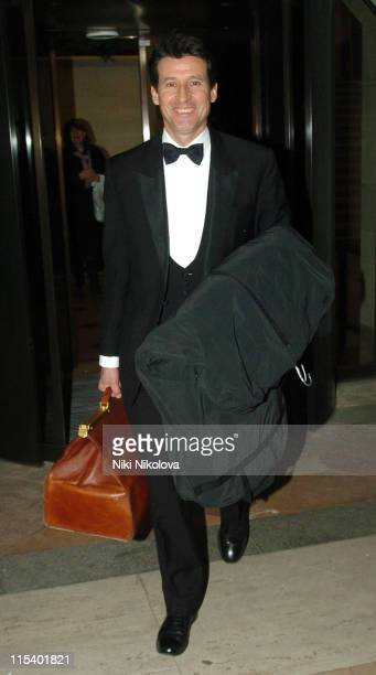 Sebastian Coe during Morgan Stanley Great Britons Awards 2005 Departures at The Guildhall in London Great Britain