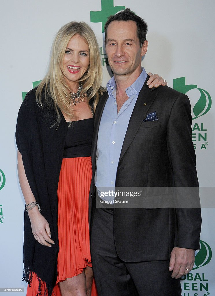 Sebastian Copeland and Caroline Doerwald arrive at the Global Green USA's 11th Annual PreOscar Party at Avalon on February 26 2014 in Hollywood...