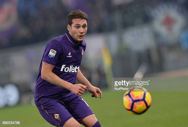 Sebastian Cristoforo during the Italian Serie A football match between SS Lazio and Fiorentina at the Olympic Stadium in Rome on december 18 2016