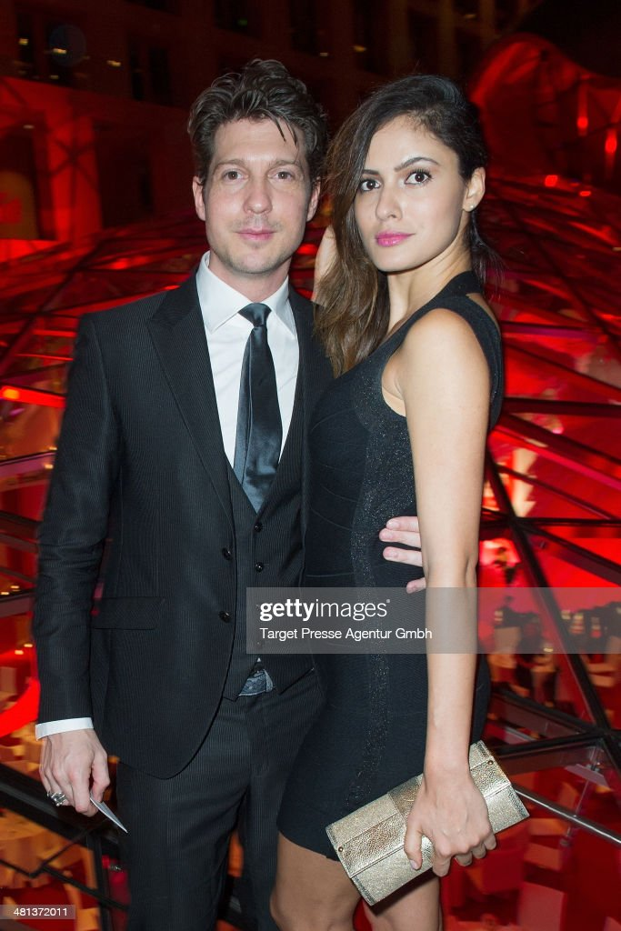 Sebastian Deyle and Tatiana Silva attend the Gala Night of the FIFA World Cup trophy Tour on March 29, 2014 in Berlin, Germany.