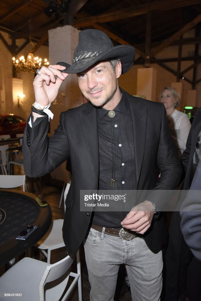 Sebastian Deyle attends the 'CMS Gamblers Night - Western Style' of Christoph Metzelder Foundation on October 6, 2017 in Berlin, Germany.