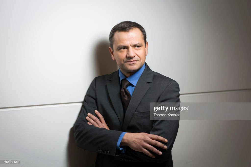 Sebastian Edathy, Member of German Social Democrats ( SPD), poses for a photograph during a portrait session on Febraury 19, 2013 in Berlin, Germany.