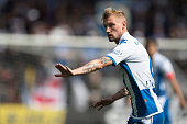 Sebastian Eriksson of IFK Goteborg during the Allsvenskan match between IF Elfsborg and IFK Goteborg at Boras Arena on July 17 2016 in Boras Sweden