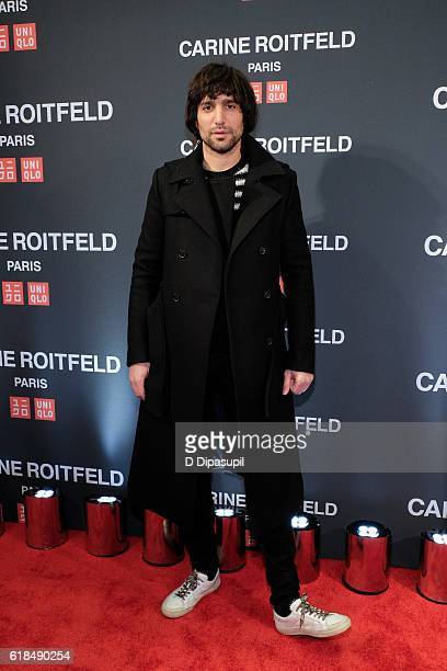 Sebastian Faena attends the UNIQLO Fall/Winter 2016 Carine Roitfeld Collection Launch at UNIQLO on October 26 2016 in New York City