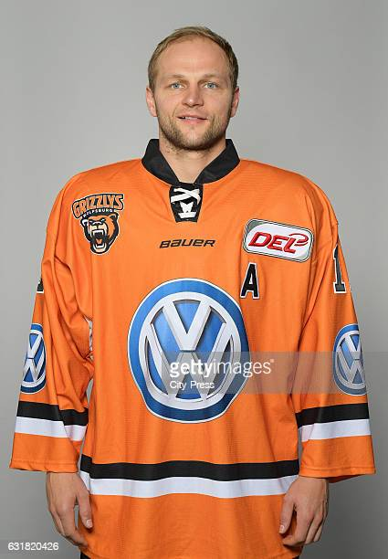 Sebastian Furchner of the Grizzlys Wolfsburg during the portrait shot on September 4 2016 in Wolfsburg Germany