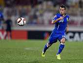 Sebastian Giovinco of Italy in action during the EURO 2016 Group H Qualifier match between Malta and Italy at Ta' Qali Stadium on October 13 2014 in...