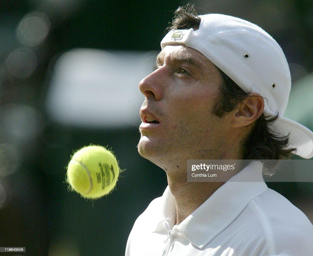 2005 Wimbledon Championships - Gentlemens' Singles - Quarter Finals - Andy