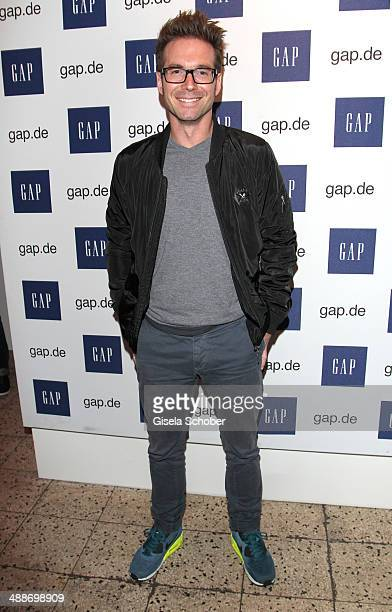 Sebastian Hoeffner attends the GAP PopUp Shop Opening on May 7 2014 in Munich Germany