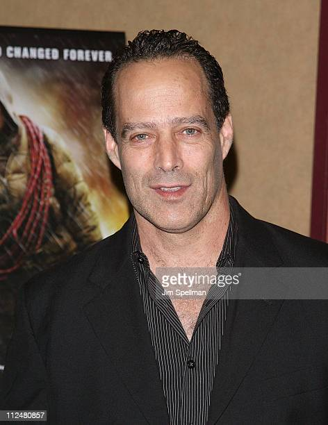 Sebastian Junger attends the premiere of 'The Road' at Clearview Chelsea Cinemas on November 16 2009 in New York City
