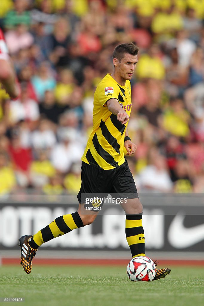 Sebastian Kehl Borussia Dortmund Testspiel gegen Hessen Kassel Borussia Dortmund 1 Bundesliga Fussball Borussia Dortmund BVB Saison 2014/ 2015