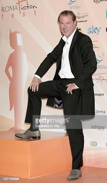 Sebastian Koch attends a photocal for 'Der Seewolf' during the Roma Fiction Fest at Adriano Cinema on July 9 2010 in Rome Italy