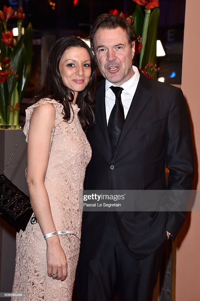 <a gi-track='captionPersonalityLinkClicked' href=/galleries/search?phrase=Sebastian+Koch&family=editorial&specificpeople=636122 ng-click='$event.stopPropagation()'>Sebastian Koch</a> (R) attends the 'Hail, Caesar!' premiere during the 66th Berlinale International Film Festival Berlin at Berlinale Palace on February 11, 2016 in Berlin, Germany.