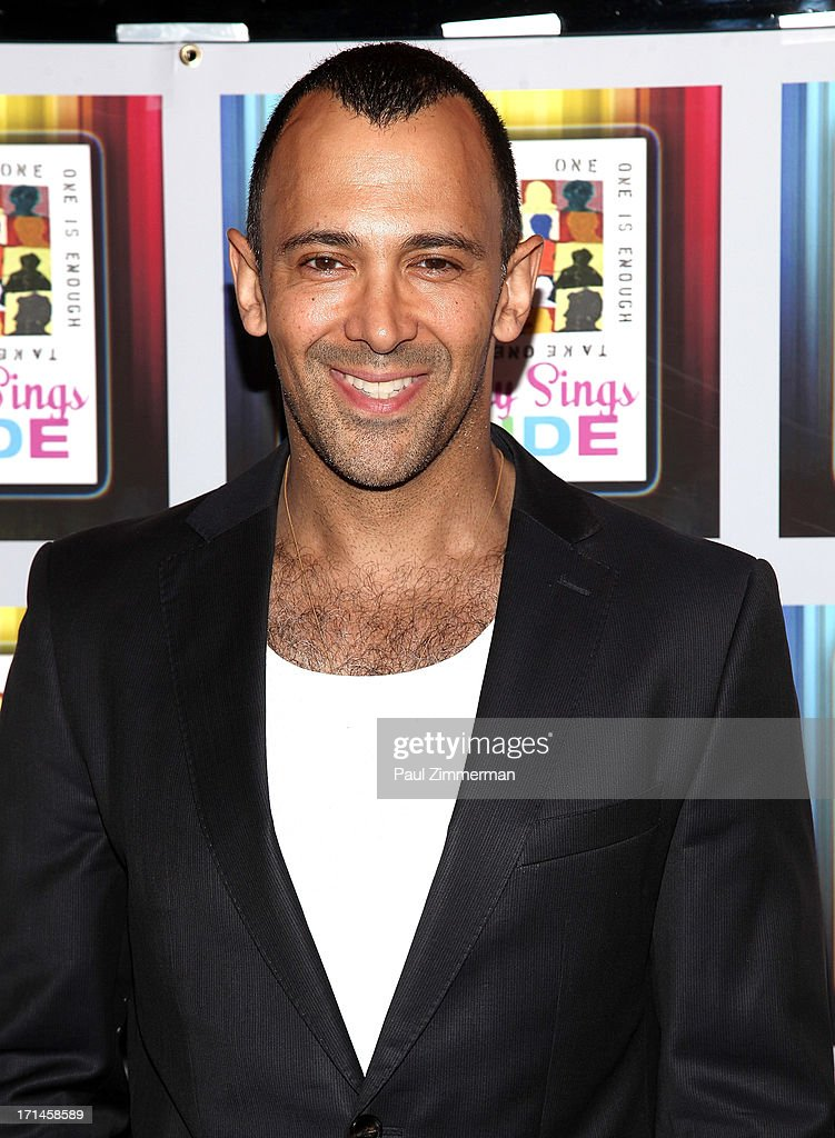 Sebastian La Cause attends Broadway Sings For Pride NYC 2013 Benefit at Iguana on June 24, 2013 in New York City.