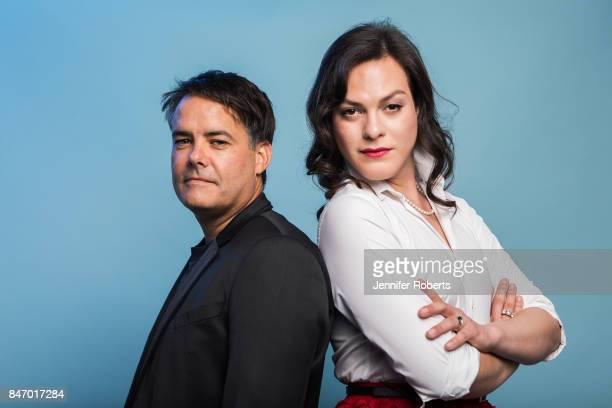 Sebastian Lelio and Daniela Vega of 'Fantastic Woman' are photographed at the 2017 Toronto Film Festival on September 13 2017 in Toronto Ontario
