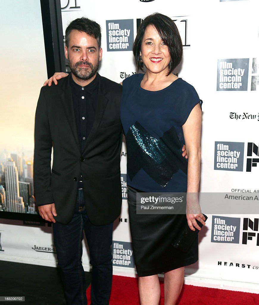 Sebastian Lelio and Paulina Garcia attend the Centerpiece Gala Presentation Of 'The Secret Life Of Walter Mitty' premiere during the 51st New York...