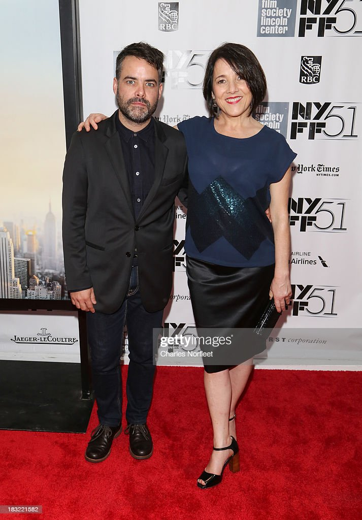 Sebastian Lelio and Paulina Garcia attend the Centerpiece Gala Presentation Of 'The Secret Life Of Walter Mitty' during the 51st New York Film...