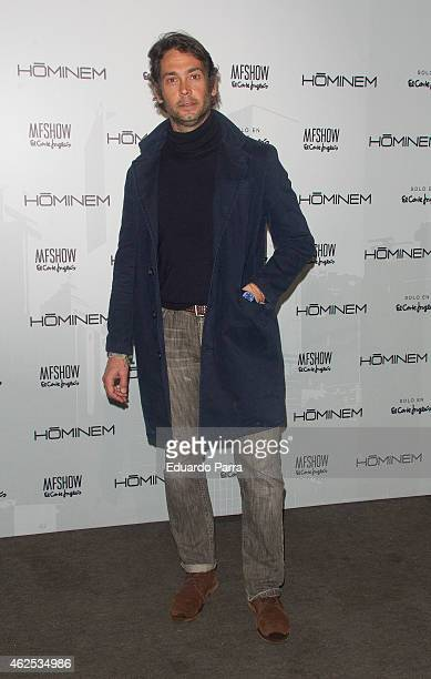 Sebastian Palomo Danko attends Hominem new collection presentation at Price circus on January 30 2015 in Madrid Spain
