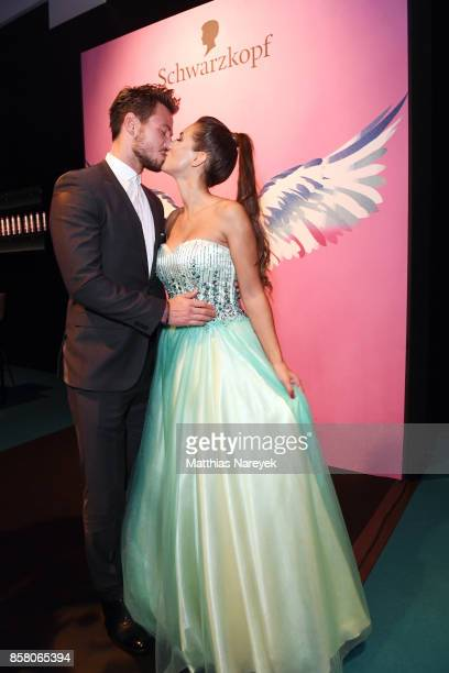 Sebastian Pannek and Clea Lacy attend the Tribute To Bambi after show party at Station on October 5 2017 in Berlin Germany