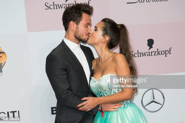 Sebastian Pannek and Clea Lacy attend the Tribute To Bambi at Station on October 5 2017 in Berlin Germany