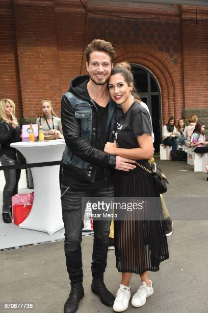 Sebastian Pannek and CleaLacy Juhn attend the GLOW The Beauty Convention at Station on November 5 2017 in Berlin Germany