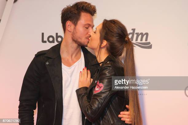 Sebastian Pannek attends with CleaLacy Juhn the GLOW The Beauty Convention at Station on November 4 2017 in Berlin Germany