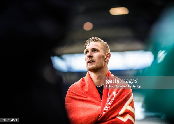Sebastian Polter of Berlin looks disappointed after the Second Bundesliga match between MSV Duisburg and 1 FC Union Berlin at SchauinslandReisenArena...
