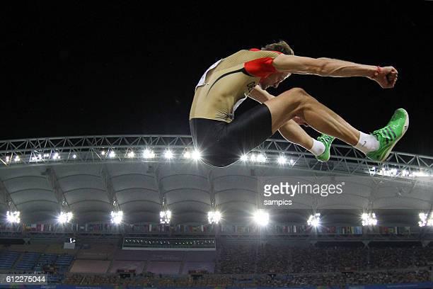 Sebastian Reif GER Weitsprung Finale derMänner long jump final men IAAF Leichtathletik WM Weltmeisterschaft in Daegu Sudkores 2011 IAAF world...