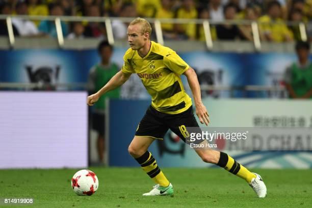 Sebastian Rode of Burussia Dortmund in action during the preseason friendly match between Urawa Red Diamonds and Borussia Dortmund at Saitama Stadium...