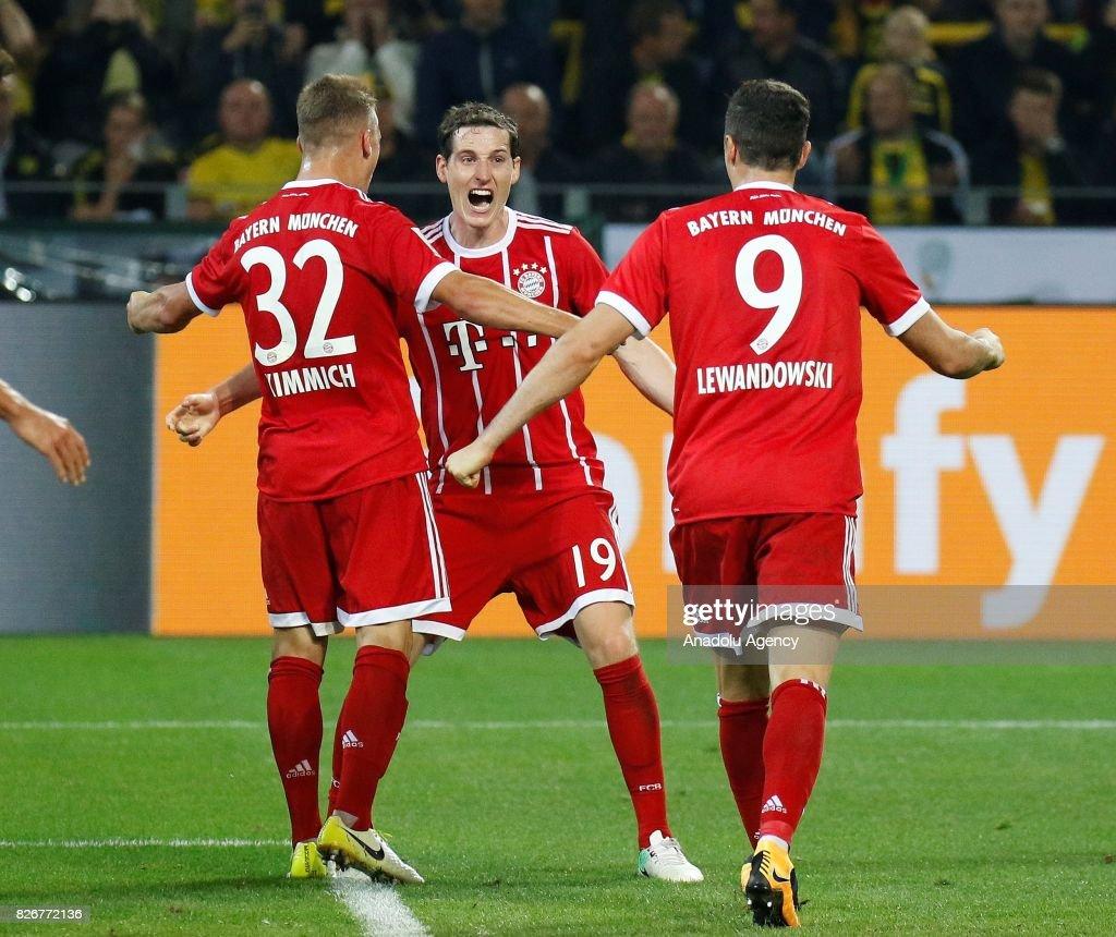 DFL Super Cup 2017 Final Borussia Dortmund vs FC Bayern Munich
