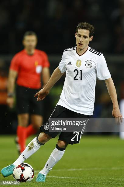 Sebastian Rudy of Germanyduring the friendly match between Germany and England on March 22 2017 at the Signal Iduna Park stadium in Dortmund Germany