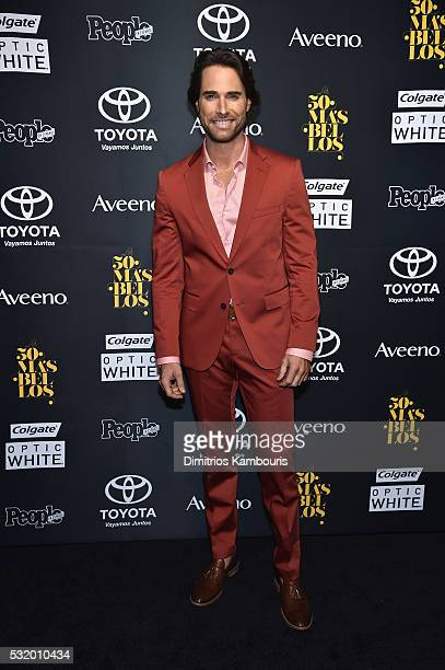 Sebastian Rulli attends People En Espanol's '50 Most Beautiful' on May 17 2016 in New York City