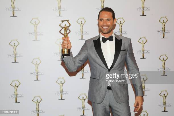 Sebastian Rulli attends the press room during the Premios Tv y Novelas 2017 at Televisa San Angel on March 26 2017 in Mexico City Mexico