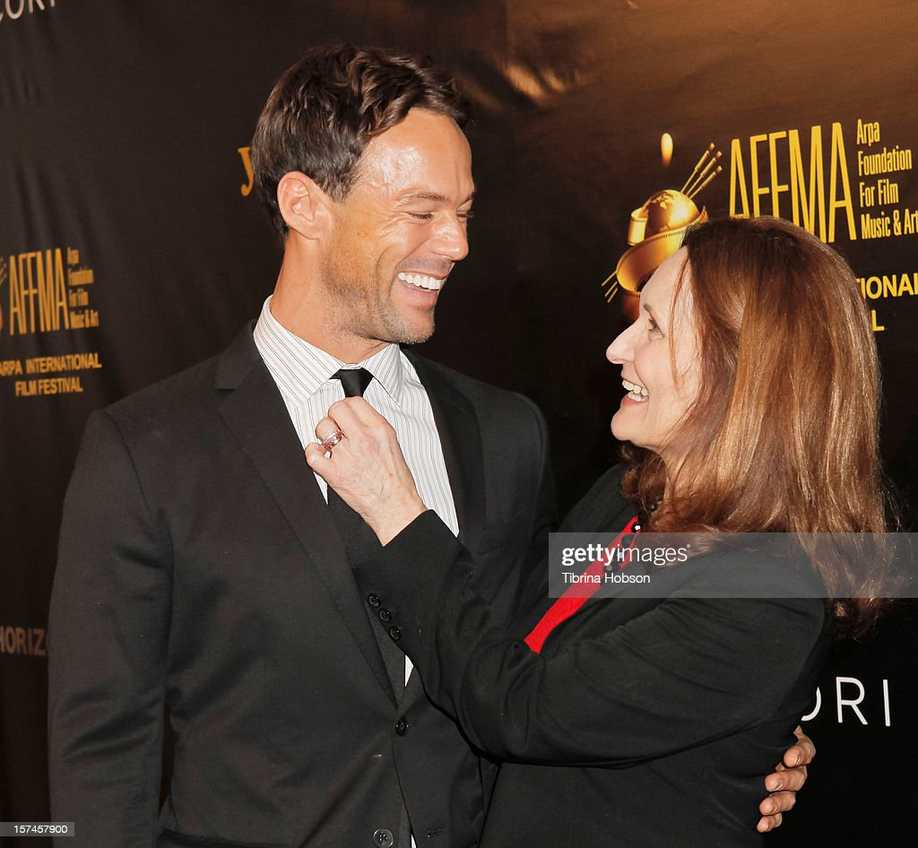 Sebastian Siegel and <a gi-track='captionPersonalityLinkClicked' href=/galleries/search?phrase=Beth+Grant&family=editorial&specificpeople=2337985 ng-click='$event.stopPropagation()'>Beth Grant</a> attend the Arpa International Film Festival closing night gala at Sheraton Hotel on December 2, 2012 in Universal City, California.
