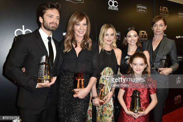 Sebastian Stan Allison Janney Margot Robbie Caitlin Carver Julianne Nicholson and Mckenna Grace attend the 21st Annual Hollywood Film Awards...