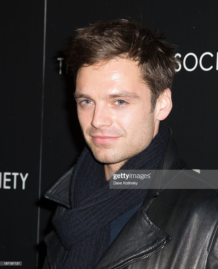 <a gi-track='captionPersonalityLinkClicked' href=/galleries/search?phrase=Sebastian+Stan&family=editorial&specificpeople=656034 ng-click='$event.stopPropagation()'>Sebastian Stan</a> attends a screening of 'Thor: The Dark World' hosted by The Cinema Society And Dior Beauty at 79 Crosby Street on November 6, 2013 in New York City.