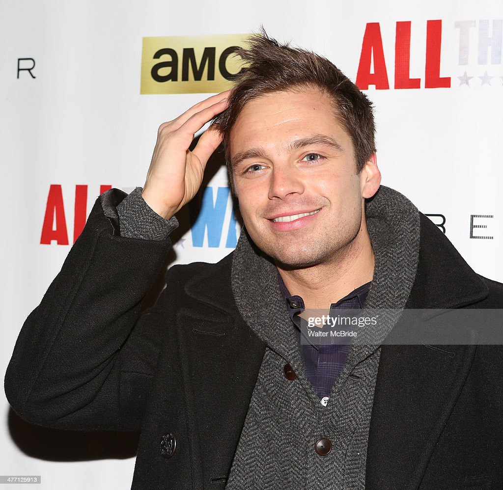 <a gi-track='captionPersonalityLinkClicked' href=/galleries/search?phrase=Sebastian+Stan&family=editorial&specificpeople=656034 ng-click='$event.stopPropagation()'>Sebastian Stan</a> attends 'All The Way' opening night at Neil Simon Theatre on March 6, 2014 in New York City.