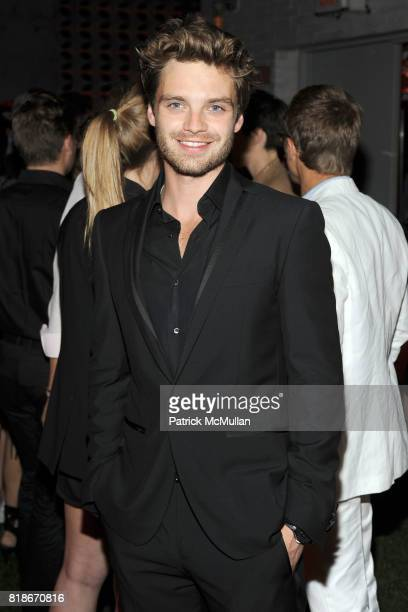 Sebastian Stan attends SALVATORE FERRAGAMO ATTIMO Launch Event at The Standard Hotel on June 30 2010 in New York City