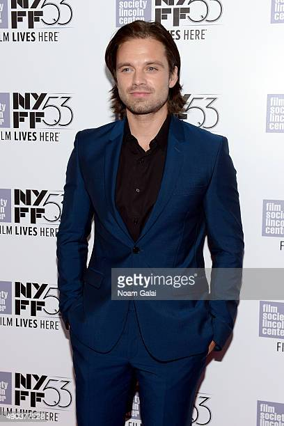 Sebastian Stan attends the 53rd New York Film Festival 'The Martian' Premiere Arrivals at Alice Tully Hall on September 27 2015 in New York City