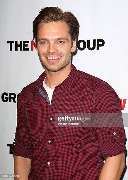 Sebastian Stan attends the 'Crimes Of The Heart' benefit reading for The New Group at Acorn Theatre on October 28 2013 in New York City