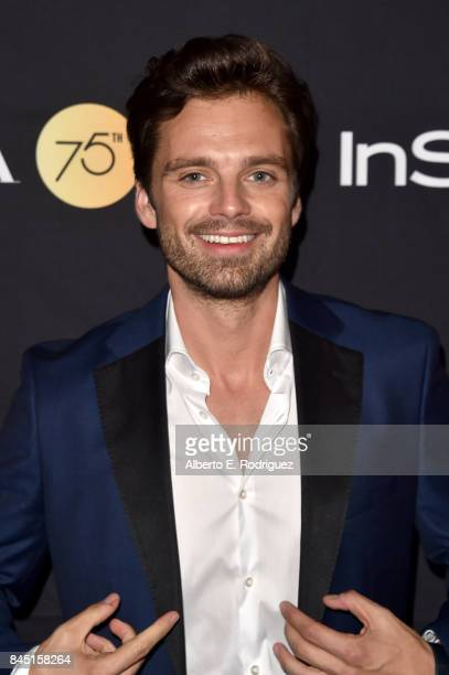 Sebastian Stan attends the HFPA InStyle annual celebration of 2017 Toronto International Film Festival at Windsor Arms Hotel on September 9 2017 in...