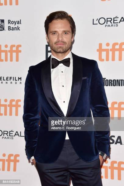 Sebastian Stan attends the 'I Tonya' premiere during the 2017 Toronto International Film Festival at Princess of Wales Theatre on September 8 2017 in...