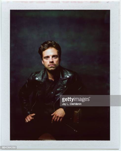 Sebastian Stan from the film 'I Tonya' is photographed on polaroid film at the LA Times HQ at the 42nd Toronto International Film Festival in Toronto...