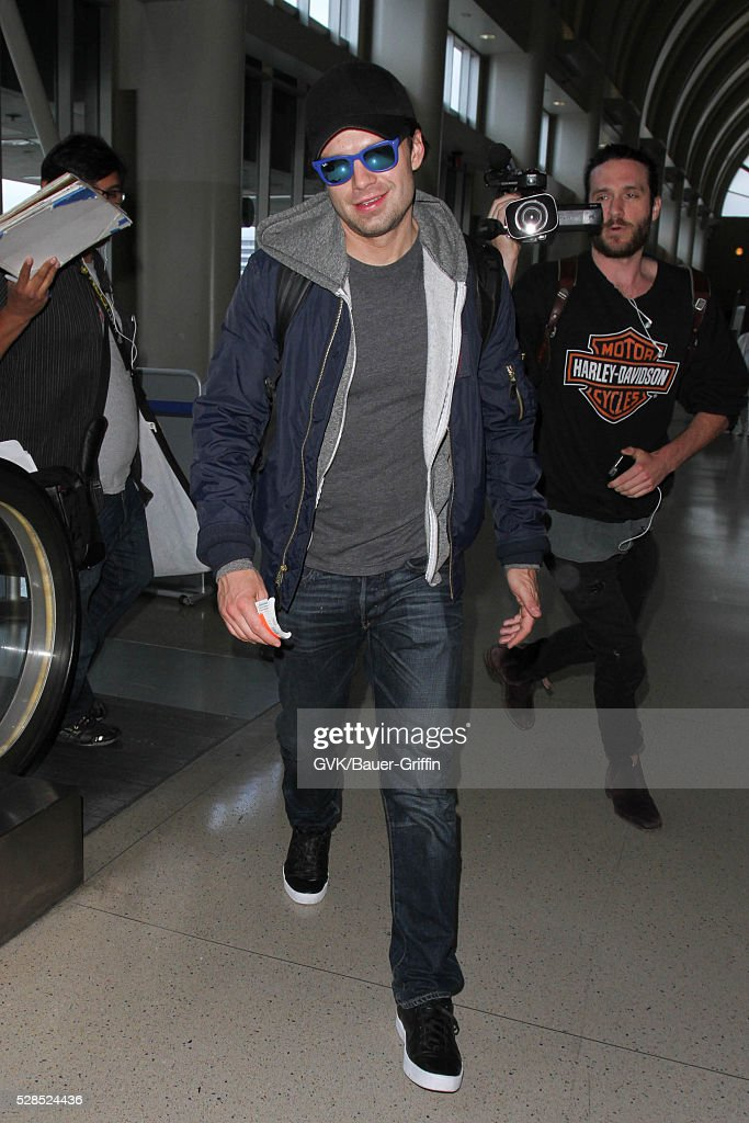 <a gi-track='captionPersonalityLinkClicked' href=/galleries/search?phrase=Sebastian+Stan&family=editorial&specificpeople=656034 ng-click='$event.stopPropagation()'>Sebastian Stan</a> is seen at LAX on May 05, 2016 in Los Angeles, California.