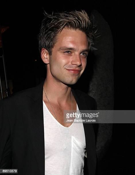 Sebastian Stan sighting on April 30 2009 in Hollywood California