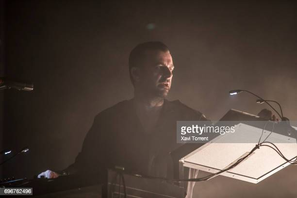Sebastian Szary of Moderat performs on stage during day 3 of Sonar 2017 on June 16 2017 in Barcelona Spain