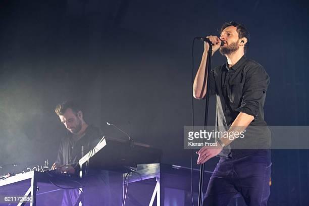 Sebastian Szary Sascha Ring of Moderat performs at Metropolis Festival at the RDS Concert Hall on November 4 2016 in Dublin Ireland