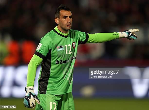 Sebastian Torrico of San Lorenzo gestures during the FIFA Club World Cup Semi Final match between CA San Lorenzo and Auckland City FC at Marrakech...