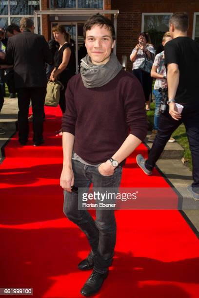 Sebastian Urzendowsky attends the 53rd Grimme Award at Theater Marl on March 31 2017 in Marl Germany