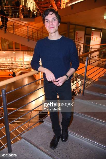 Sebastian Urzendowsky attends the ARTE reception at the 67th Berlinale International Film Festival on February 13 2017 in Berlin Germany