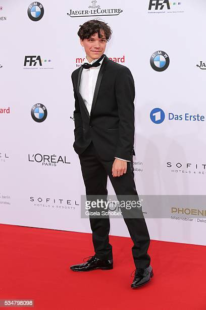Sebastian Urzendowsky attends the Lola German Film Award 2016 on May 27 2016 in Berlin Germany